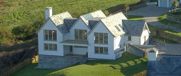 Fishers Trethowan a large detached property in Treyarnon Bay, Padstow