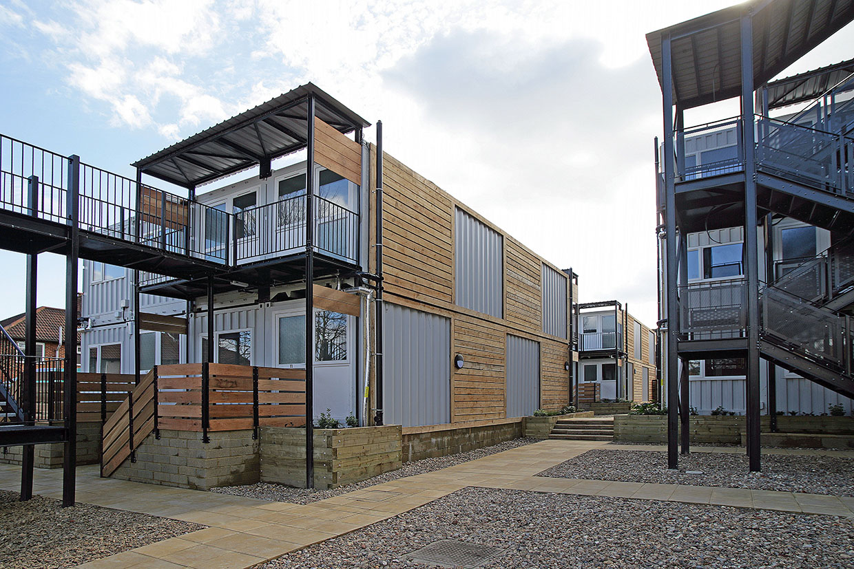Social Housing Ealing Shipping Container Homes Lavis